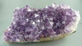 AMETHYST ( Purple Quartz Crsytal )