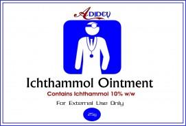 Adidev Ichthammol Ointment  150 gms