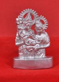 Parad Shiv Parivar Plate