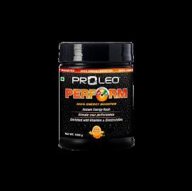Proleo Perform Energy Drink 1000 gm (2.2 lbs) Orange Flavor
