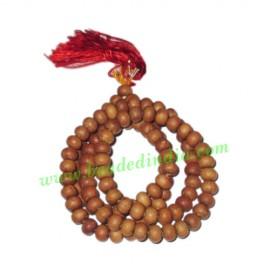 White Sandalwood Beads Mala