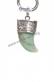 Satyamani Green Aventurine Nail Divinity Pendant