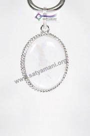 Satyamani Unakite Pear Energy Pendant