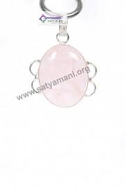 Satyamani Rose Quartz Energy Pendant III
