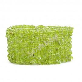 Satyamani Peridot Chips Bracelet