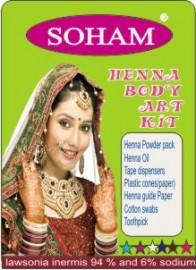 Bodyart Henna Kit